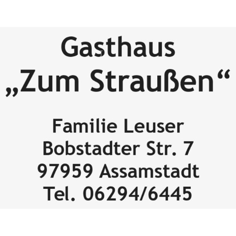 Gasthaus Straußen